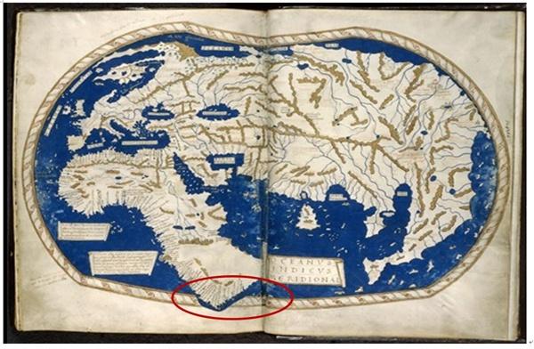 마르텔루스 지도 1490년경 제작