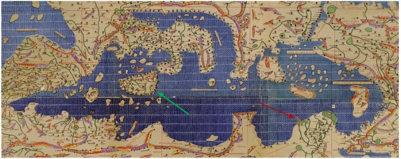 알 이드리시 지도 12세기 초