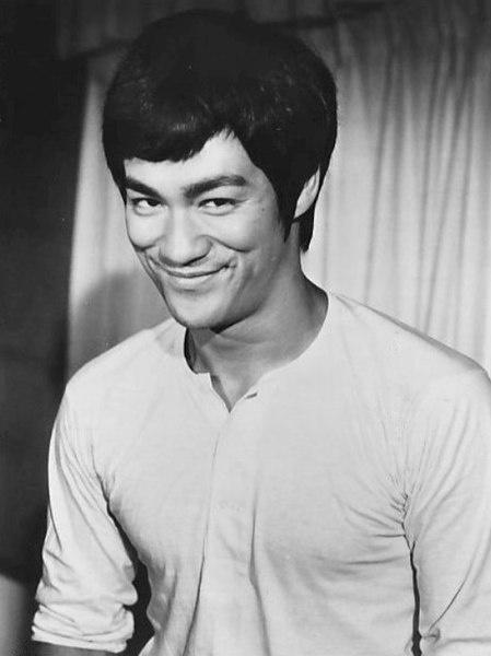 1973년에 촬영된 이소룡의 사진