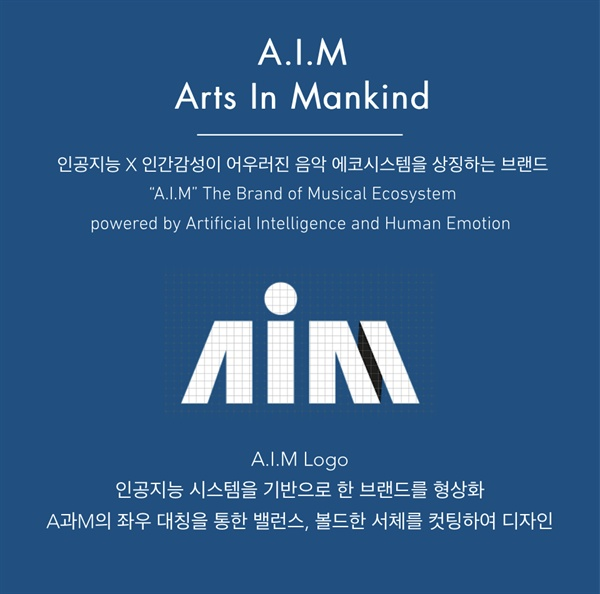 한국 음반사 엔터아츠와 영국 인공지능 음악사 쥬크덱의 협업으로 탄생한 레이블 A.I.M