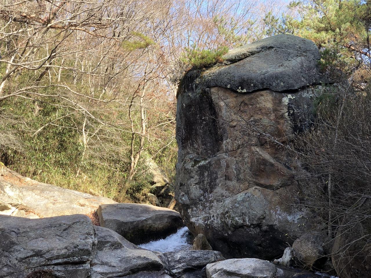 화엄숲길 용머리바위