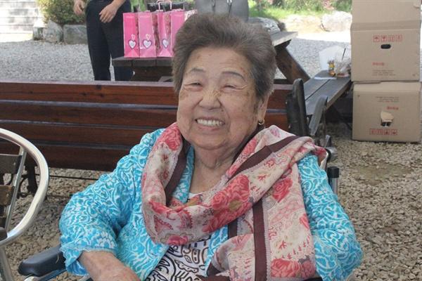 김순옥 할머니 생전 모습