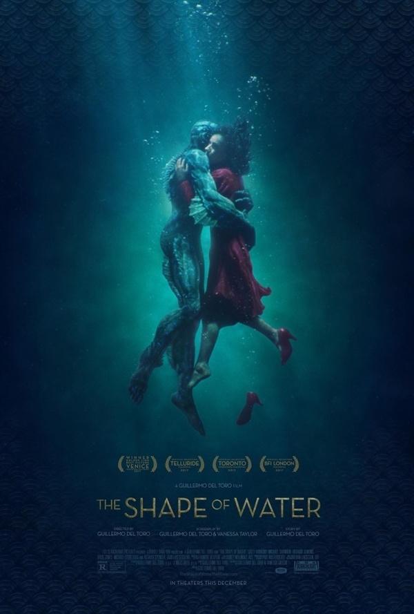 영화 <셰이브 오브 워터 : 사랑의 모양>의 작품 포스터