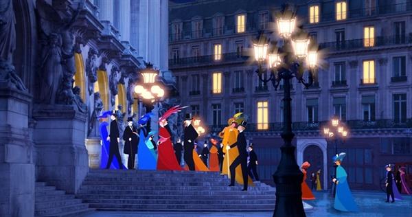 영화 <파리의 딜릴리>의 한 장면