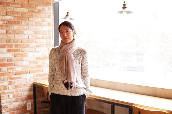 영화 <어른이 되면>의 장혜영 감독.