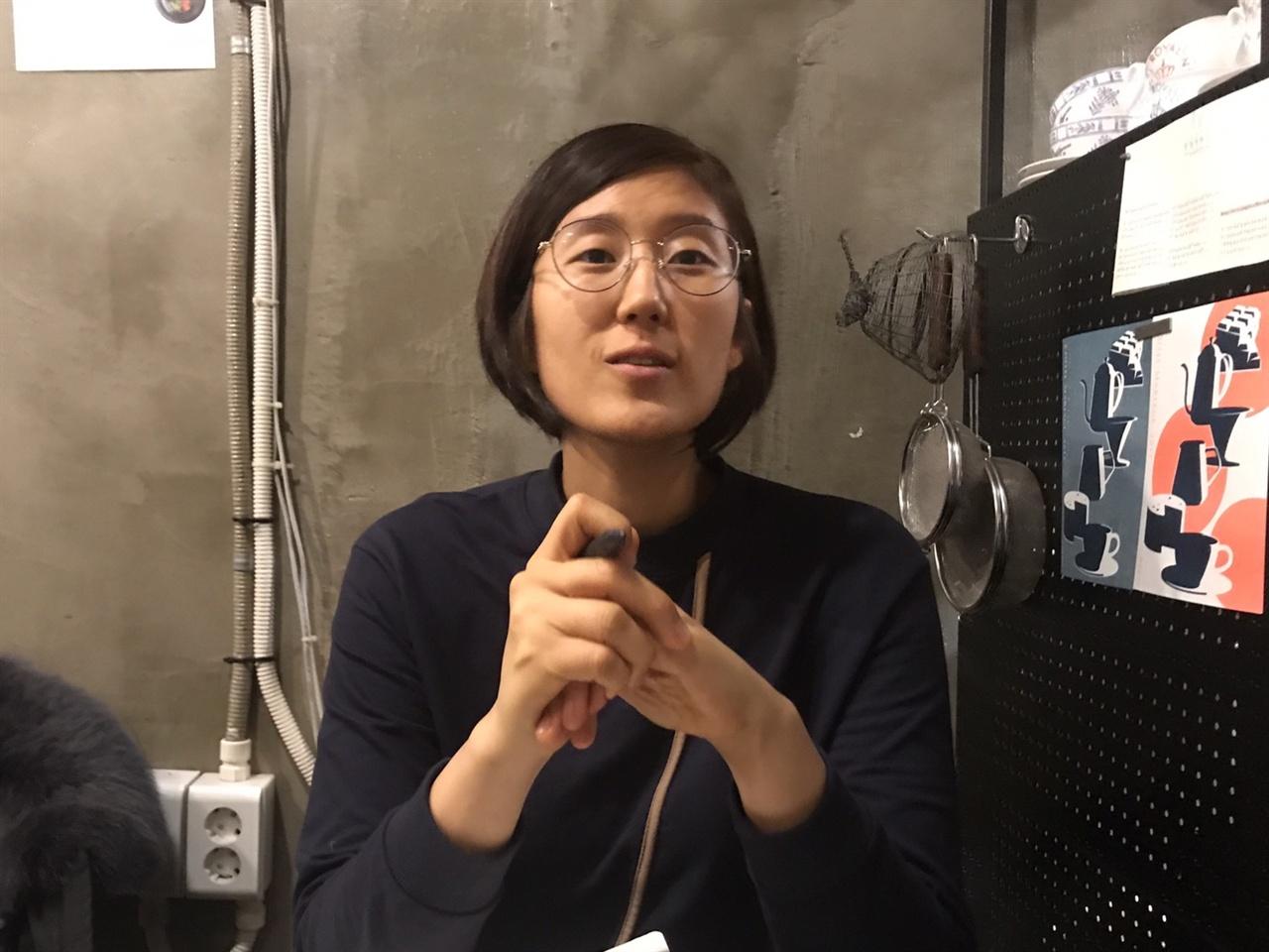 조성실 '정치하는 엄마들' 공동대표