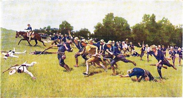 미국-스페인 전쟁.