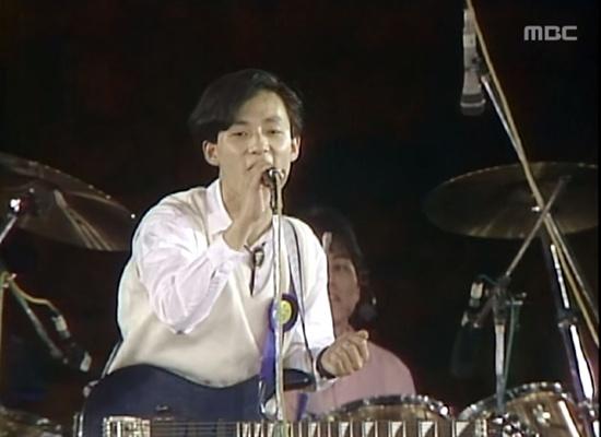 1988년 MBC 대학가요제 대상 수상곡 '그대에게'