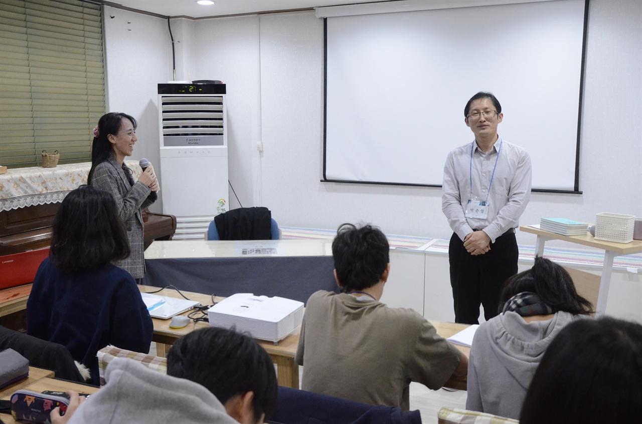 여성의 입장을 헤아릴 수 없는 남성으로서의 입장을 안타까워하는 박준영 변호사.