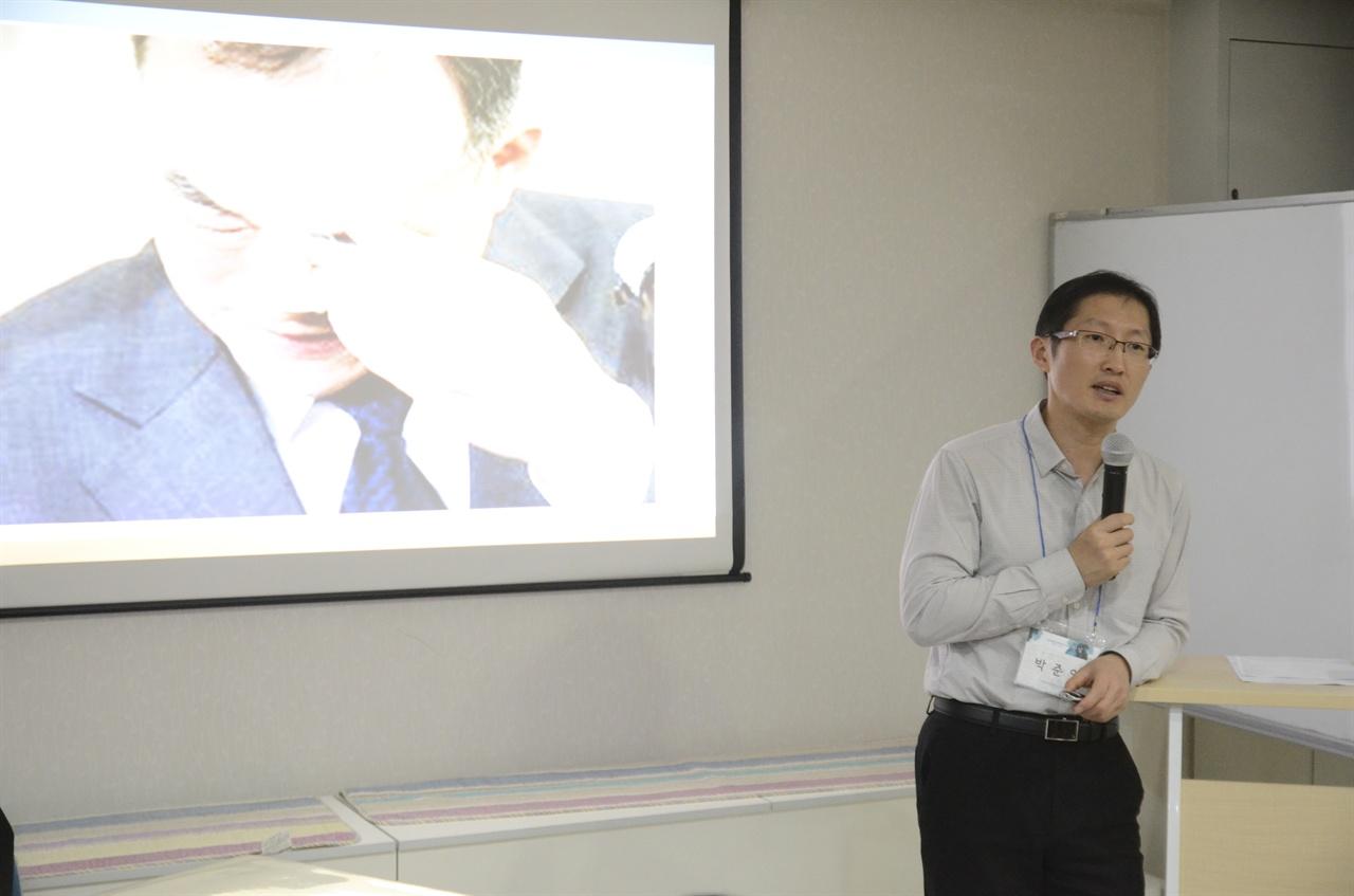 형제복지원 사건 피해자들에 대한 검찰청장의 눈물의 의미를 설명하고 있는 박준영 변호사