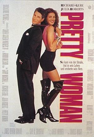 영화 <귀여운 여인> 포스터