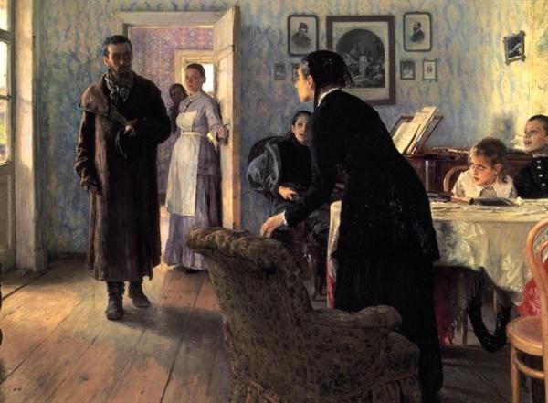 아무도 기다리지 않았다(일리야 레핀, 1884~1888, 트레치야코프미술관)