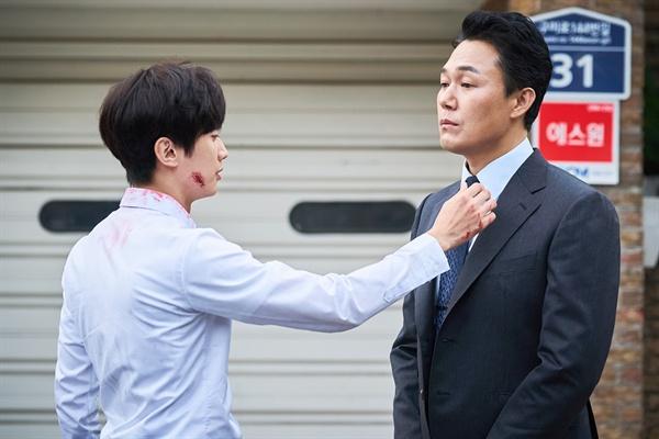 영화 <내안의 그놈>의 한 장면.