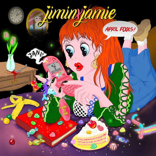 솔로 EP < jiminxjamie >로 독특한 본인의 색을 그려낸 박지민