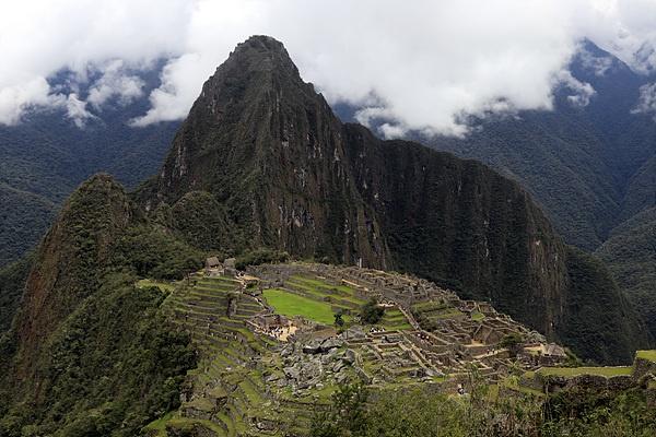 세계 최고의 관광명소 마추픽추 모습