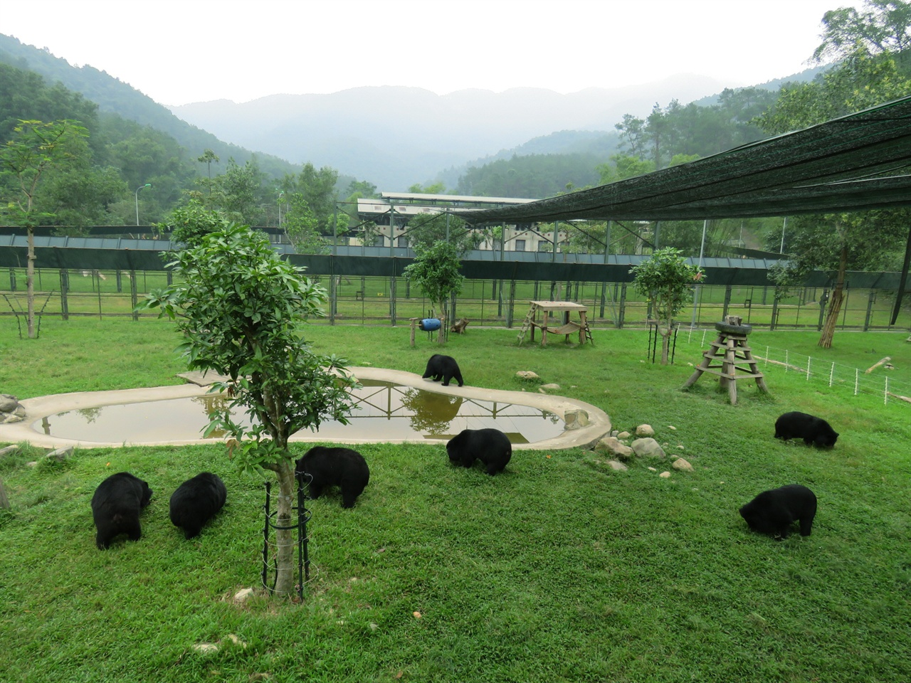 베트남 땀다오 국립공원 애니멀스 아시아 생츄어리