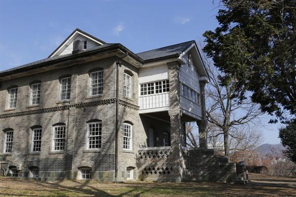 윌슨 사택. 1910년을 전후해 지어진 그의 사택은 광주에서 가장 오래된 서양식 건축물이다.