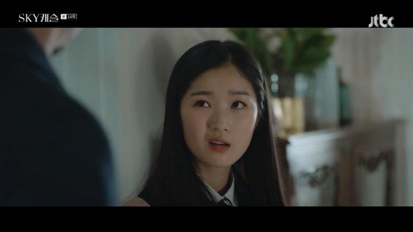JTBC 드라마 < SKY캐슬 >의 한 장면.