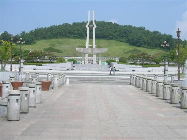 광주광역시에 있는 국립 5·18 민주묘지.