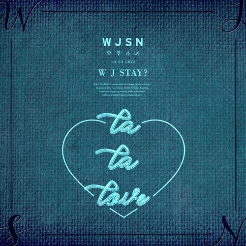 지난 8일 발매된 우주소녀의 새 음반 < WJ Stay? >