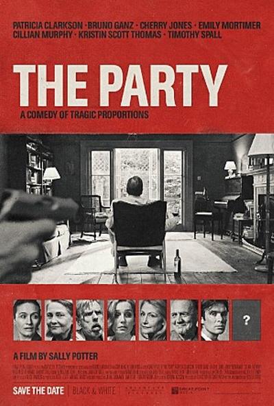 영화 <더 파티> 포스터.