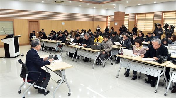 이재정 경기도교육감 새해 첫 기자간담회