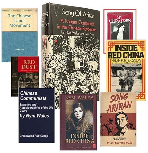 웨일스는 <아리랑> 외에도 〈붉은 중국의 내부> 등 여러 권의 저서를 남겼다.