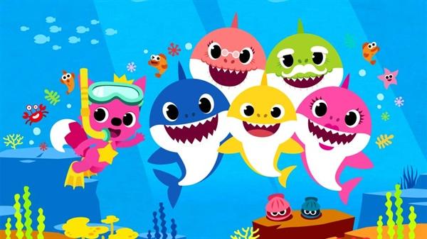 인기 동요 '상어 가족'이 미국 빌보드 싱글 차트 32위에 올랐다.
