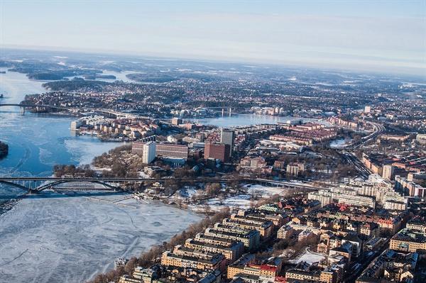 2026 동계 올림픽 유치에 도전장을 낸 스웨덴 스톡홀름의 겨울 모습. (CC-BY-3.0으로 배포, Wikimedia Commons)