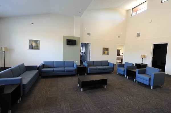 소방대원 정신치료 및 회복 센터 내부 (사진: IAFF Center of Excellence)