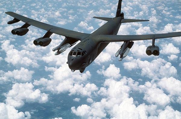 B-52 전략폭격기.
