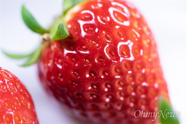 딸기는, 아니 과일은 크기가 맛을 결정하지 않는다. 다만 보기에 좋냐, 선물하기 좋냐만 결정할 뿐이다.