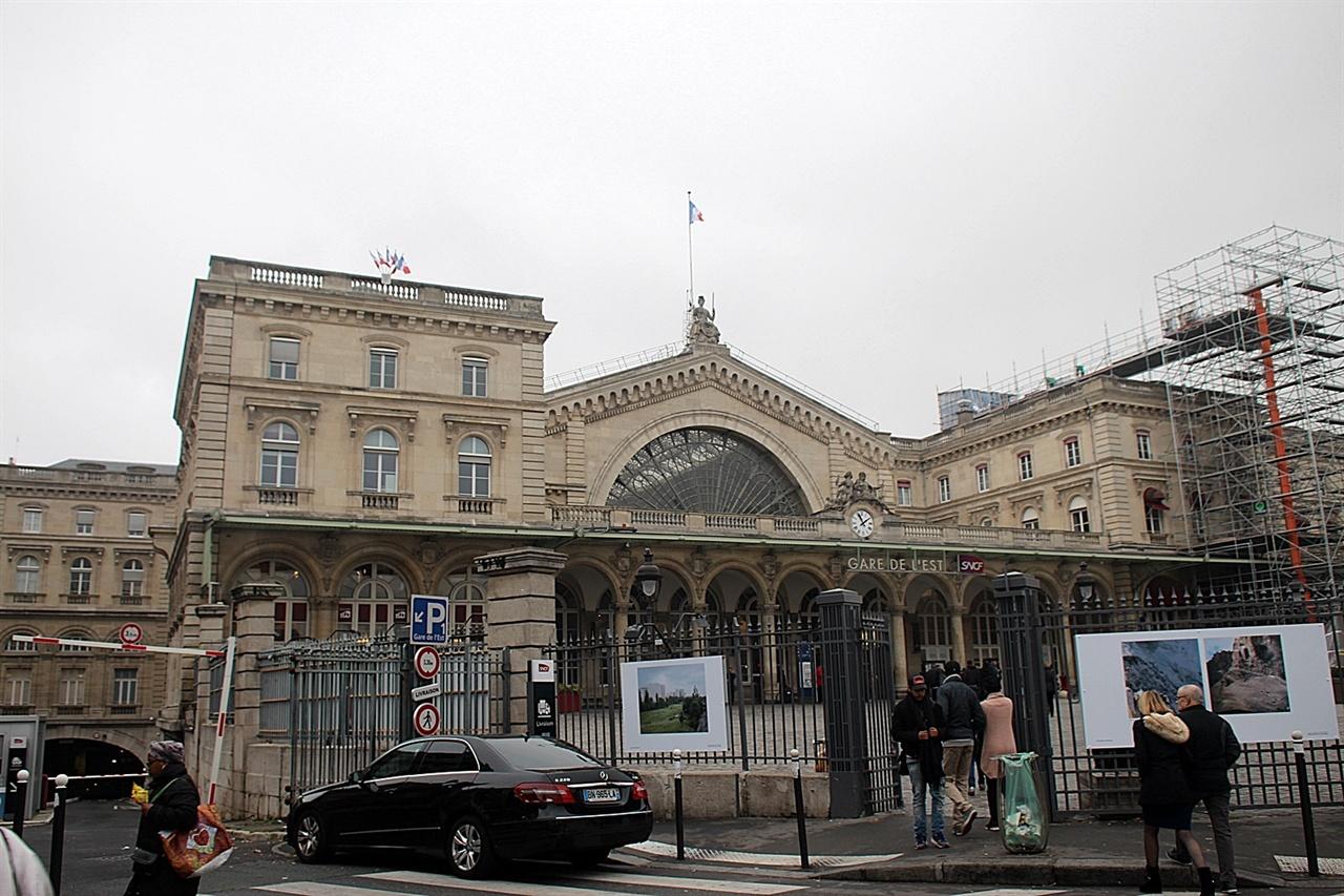 스트라스부르로 갈때 TGV고속열차를 타야하는 파리동역 모습