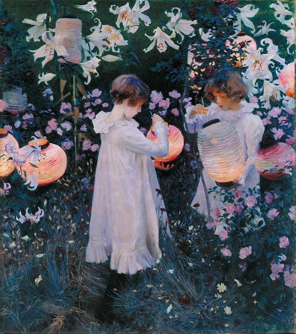 카네이션,백합,백합,장미(존 싱어 사전트,1885-6,런던 테이트 브리튼미술관)