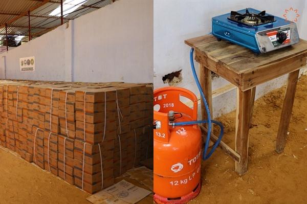 로힝야족 난민촌에 JTS와 KOICA, WFP가 협력하여 지원한 10만대의 가스 버너 JTS(이사장 법륜 스님)는 WFP로부터 시급한 연료문제 해결을 위한 가스버너 지원을 요청받았다. 이후 JTS는 10만 대의 가스버너를 주문 제작했다.