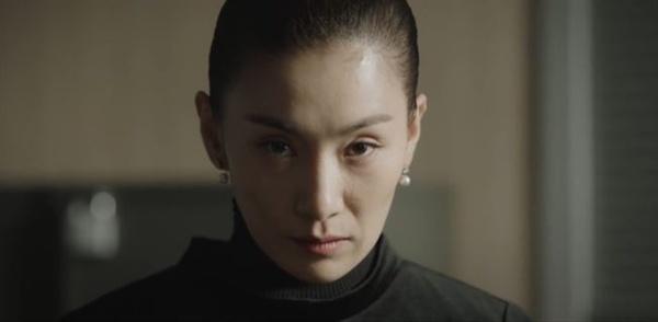 극중에서 '김주영 스앵님'을 연기하는 배우 김서형(사진은 JTBC 드라마 'SKY 캐슬' 스틸컷)