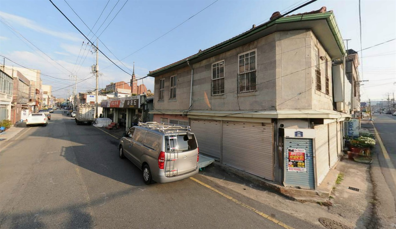 목포 옛 도심의 거리 목포 근대문화역사공간의 거리 풍경