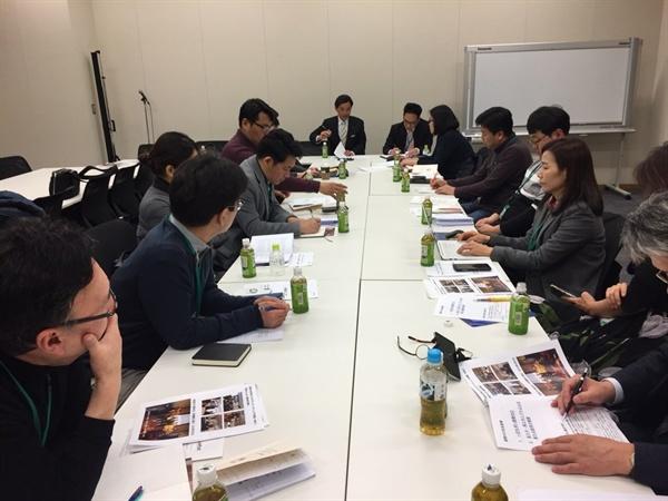 입헌민주당 일본 입헌민주당 간담회