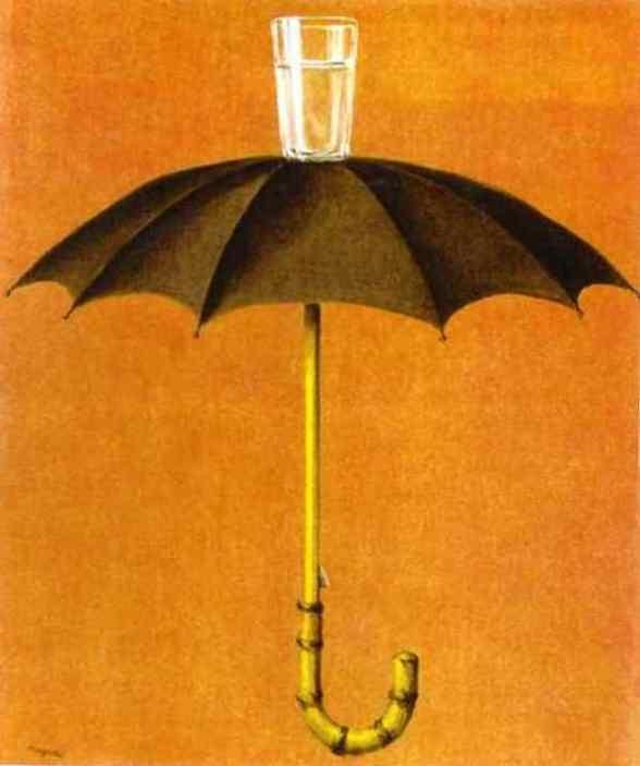 '헤겔의 휴일'(르네 마그리트, 1958, 개인소장)