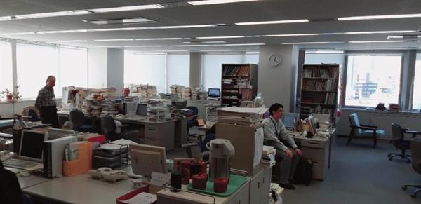 일본공산당 중앙위원회 내부 일본공산당 중앙위원회 사무실