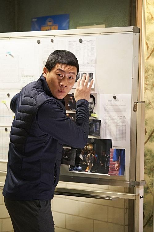 <극한직업>에서 마형사로 나오는 진선규 배우