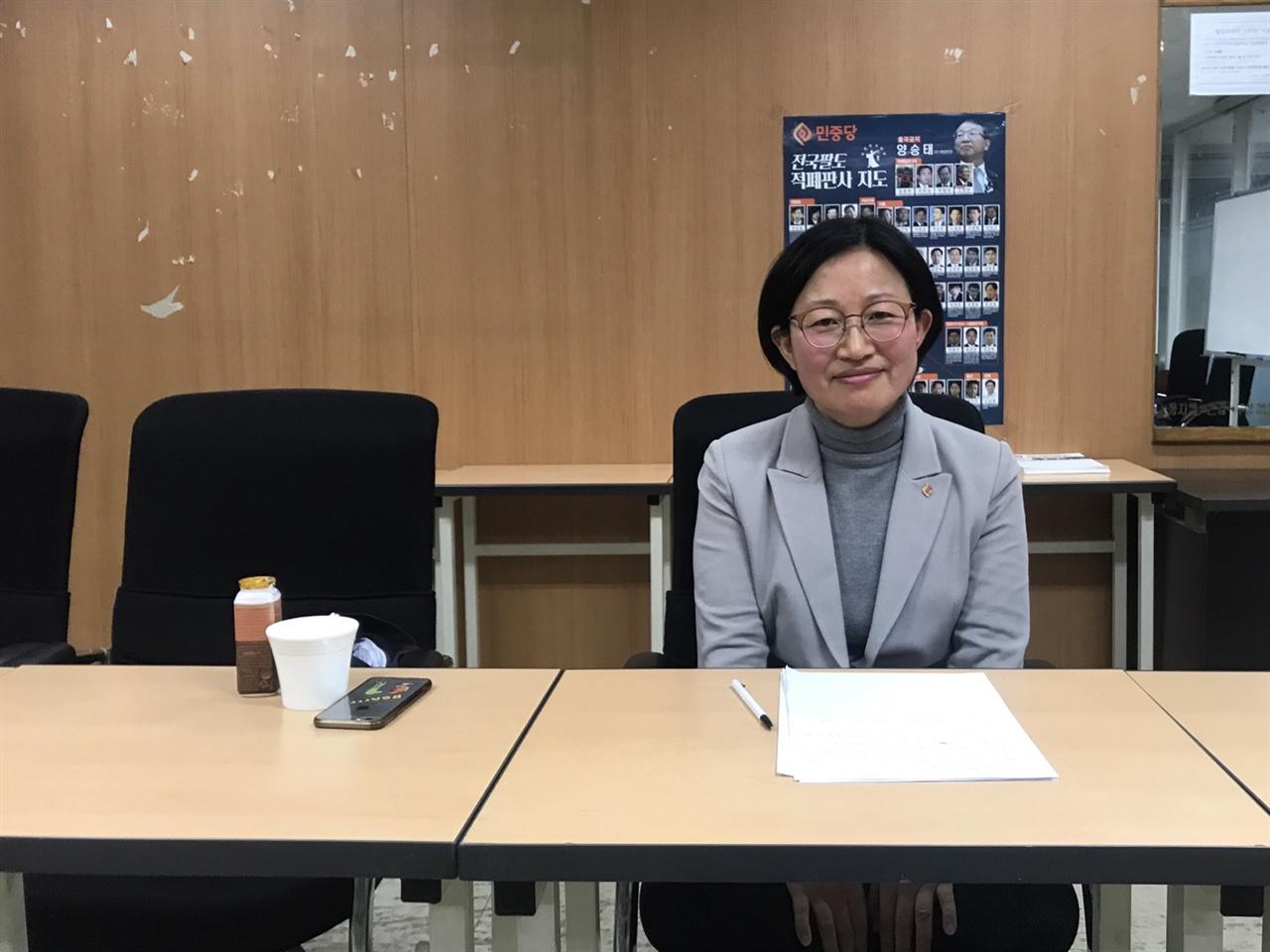 김미희 옛 통합진보당 의원