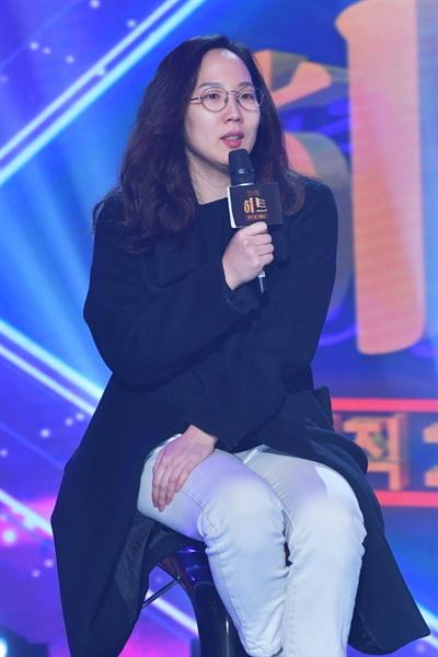 7일 KBS 2TV 새 예능프로그램 <뮤직셔플쇼 더 히트> 기자간담회에 참석한 손지원 PD.