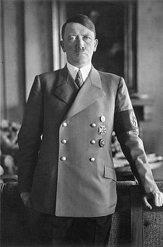 아돌프 히틀러.