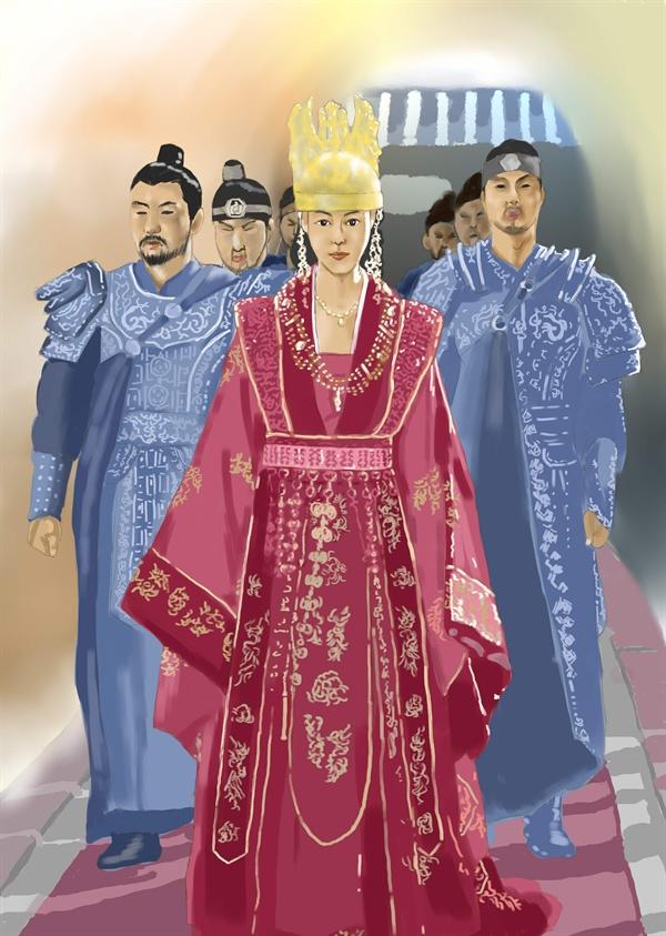 선덕여왕은 사람들에게 '아름다운 예술 애호가'로 알려졌다. 하지만 단순히 그 모습만이 그녀의 전부였을까?