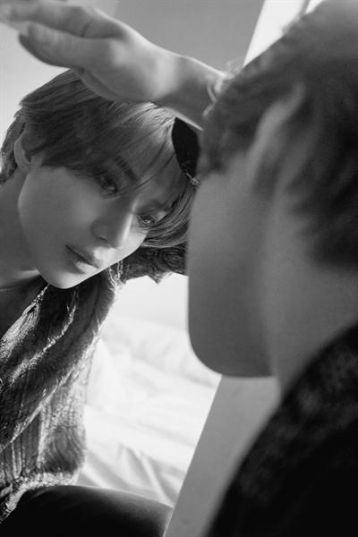 1년 6개월 만에 두 번째 솔로 미니 앨범 '원트(WANT)를 발표한 가수 태민.