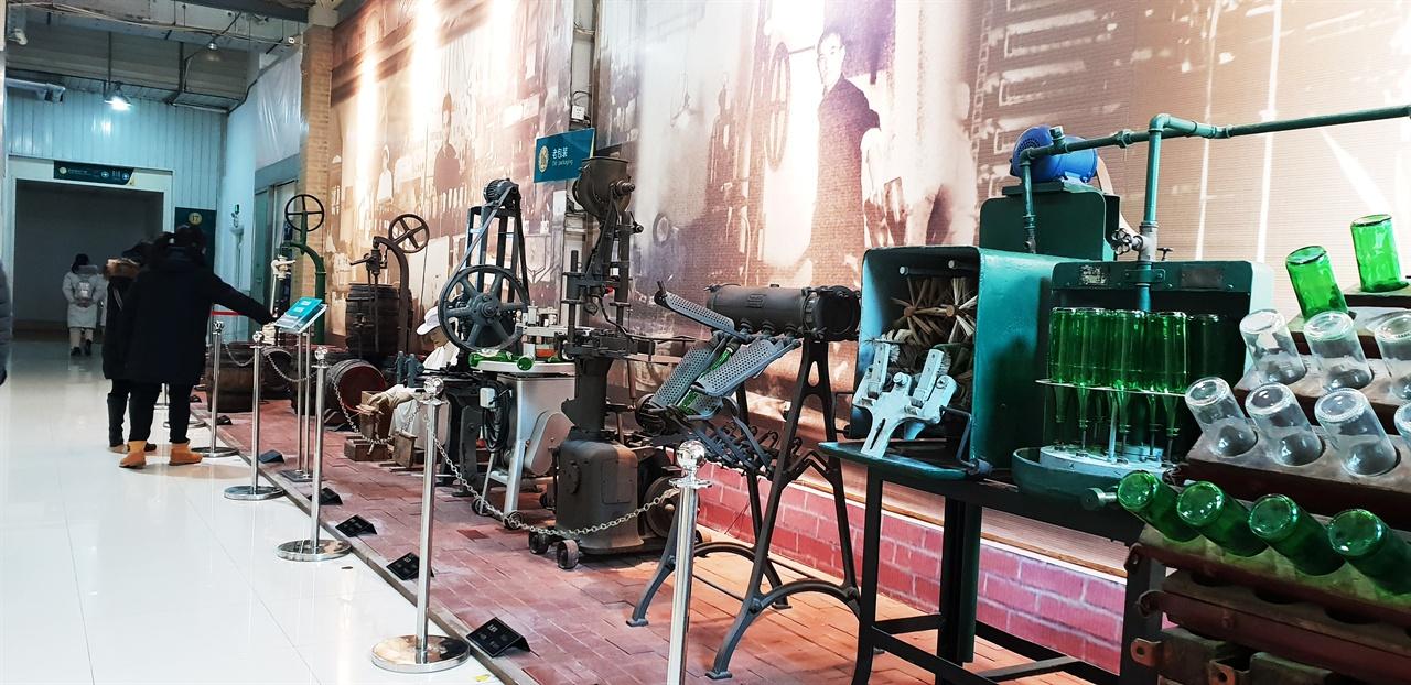 맥주생산 설비 1903 년 맥주가 생산된 후부터 만들어진 설비