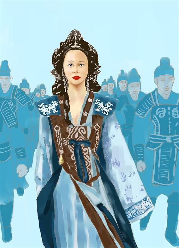 왕의 즉위와 폐위에까지 관여한 미실은 보기 드문 '고대의 여성 권력자'였다.