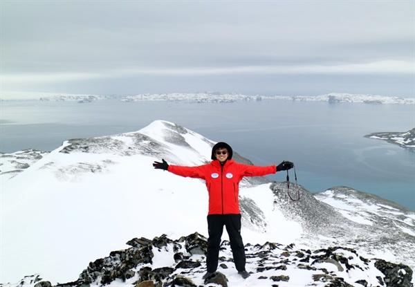 치료종결 후 5년, 남극체험단에 선발돼 일반인 최초로 세종과학기지를 방문했다