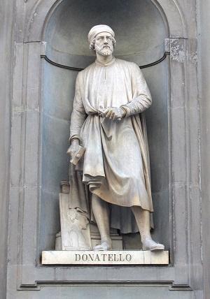 이태리 피렌체 우피치미술관에 있는 도나텔로 조각상.